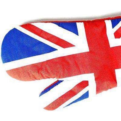 Oven Gauntlet - Union Jack, Single Oven Glove with Union Jack Print