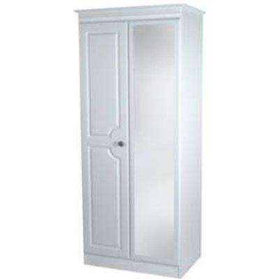 Pembury Mirror Wardrobe  - White