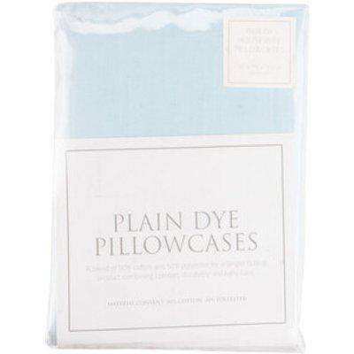 Percale Housewife Pillowcases - Ice Blue