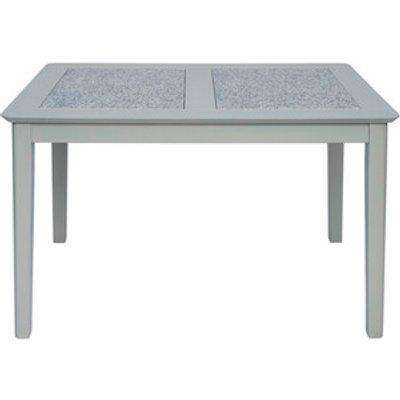 Perth 1.2M Dining Table With Stone Inset