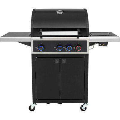 Phoenix Gas BBQ With Side Burner - 3 Burner