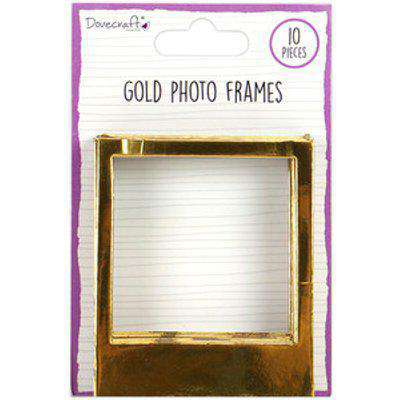 Dovecraft Photo Frames - Gold
