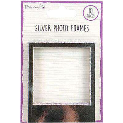 Dovecraft Photo Frames - Silver