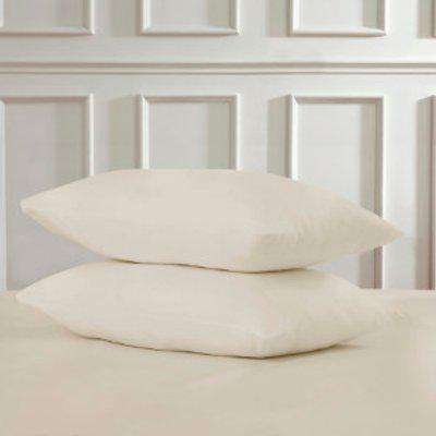 Polycotton Housewife Pillowcases - Silver
