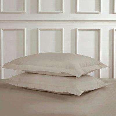Polycotton Oxford Pillowcases - Silver