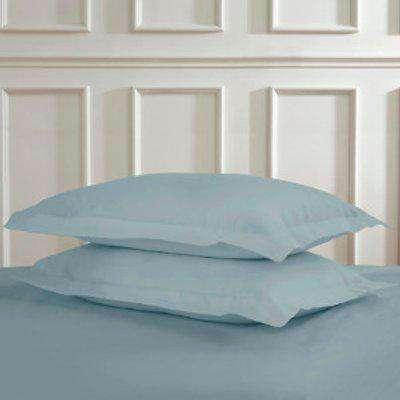 Polycotton Oxford Pillowcases - Duck Egg