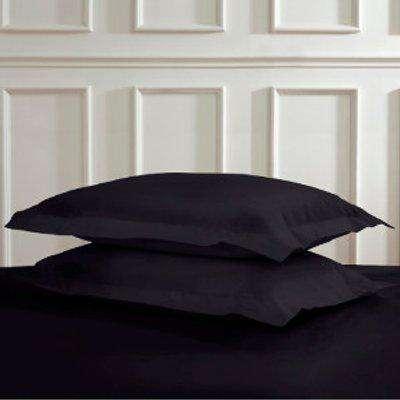 Polycotton Oxford Pillowcases - Black
