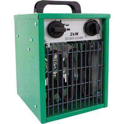 Prem-I-Air 2kW Commecial Fan Heater - Green