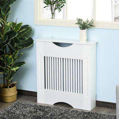 Radiator Cover Cabinet - White