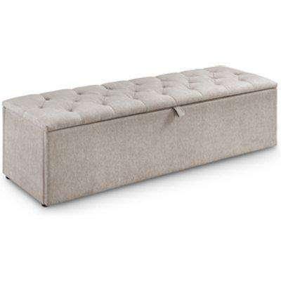 Ravello Blanket Box - Mink Chenille