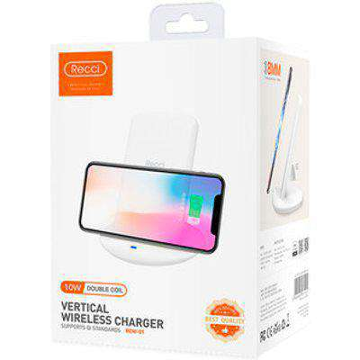 Recci Double Coil Vertical Wireless Charger