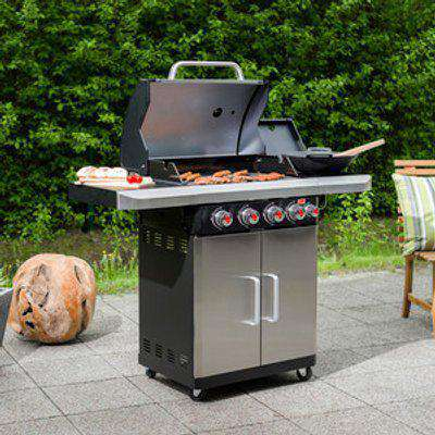 Rexon 4.1 Gas Barbecue Stst 12987 - Silver