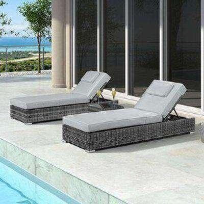 Rimini Sun Loungers Set