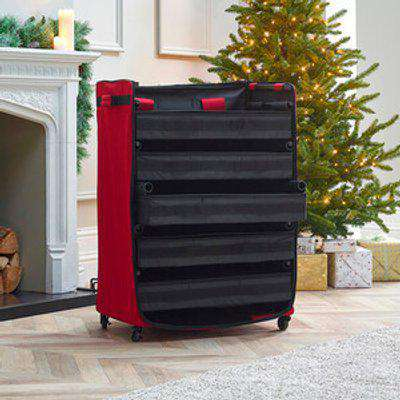 Rolling Christmas Storage Chest - Large