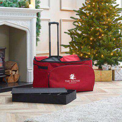 Rolling Christmas Storage Chest - Medium