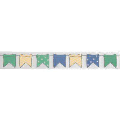 Satin Bunting Ribbon - Blue