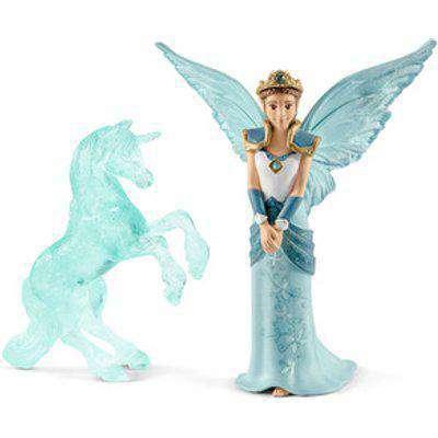SCHLEICH Bayala Movie Eyela with Unicorn Ice Sculpture Toy Figure