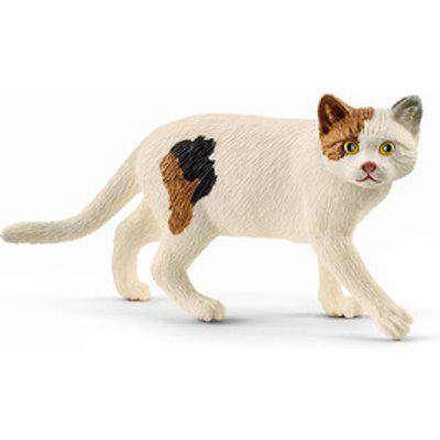 SCHLEICH Farm World American Shorthair Cat Toy Figure