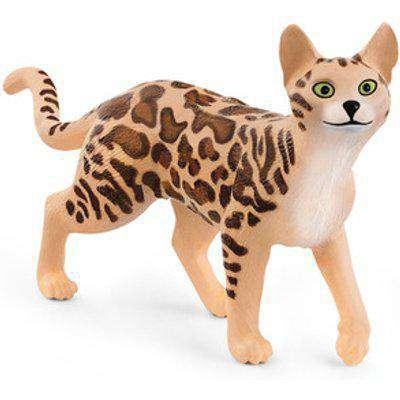 SCHLEICH Farm World Bengal Cat Toy Figure