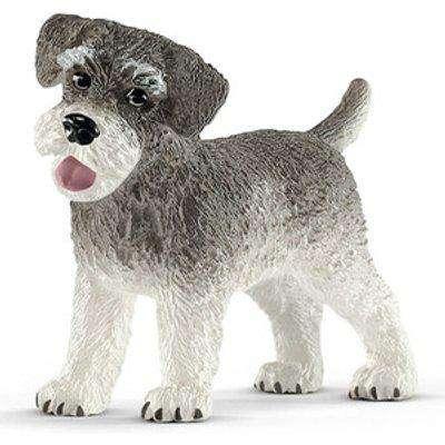 SCHLEICH Farm World Miniature Schnauzer Dog Toy Figure, 3 to 8 Years (13892)