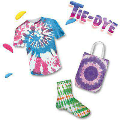 SES CREATIVE Children's Unisex Tie-dye Textile Paint