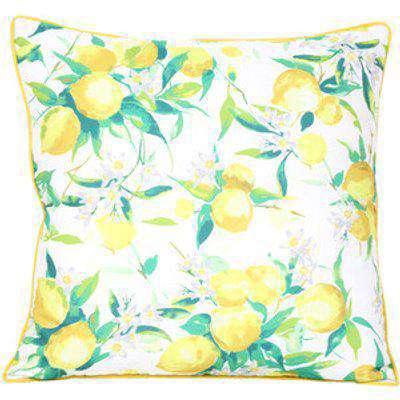 Siciliana Lemon Outdoor Cushion - Yellow
