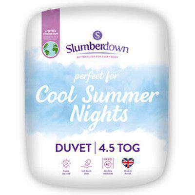 Slumberdown Cool Summer 4.5Tog Duvet - Single