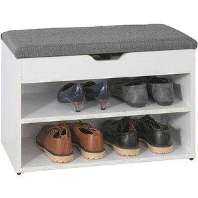 SoBuy 2 Tiers Shoe Rack Shoe Bench