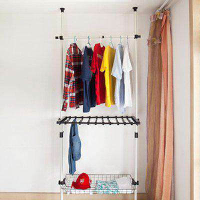 SoBuy Wardrobe Organiser Clothes Rack