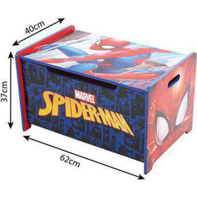 Spider-Man Deluxe Wooden Toy Box Bench