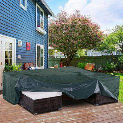 Square Outdoor Furniture Cover Protecter - Green