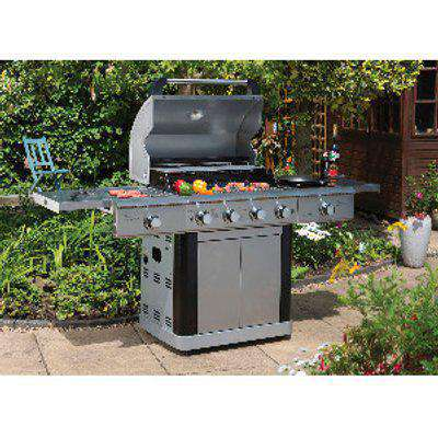 St Lucia Six Burner Gas Barbecue