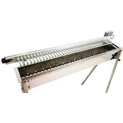 Stainless Steel Charcoal BBQ with Battery Rotisserie for 40 Skewers