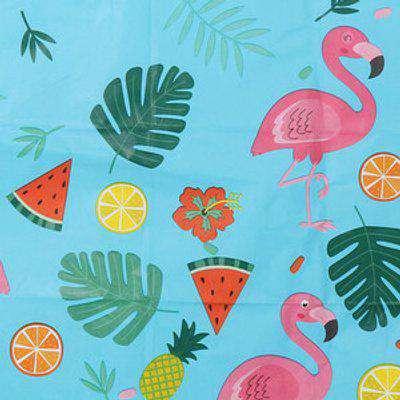Summer BBQ Paper Tablecloth