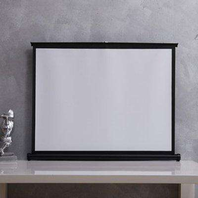 Tabletop Projector Screen - White