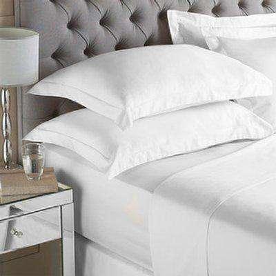 200TC Housewife Pillowcase Set - White