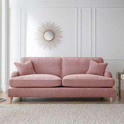 The Eva 4 Seater Sofa - Plum
