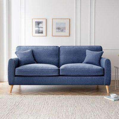The Sophia 4 Seater Sofa - Navy