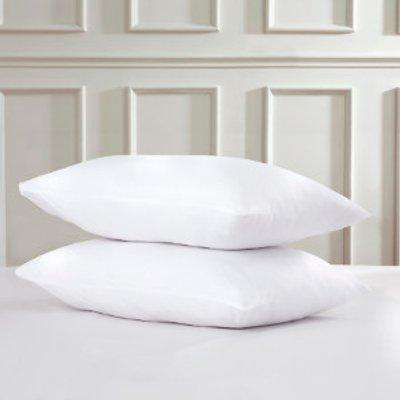 180 Thread Count Cotton Housewife Pillowcases - White