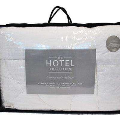 5* 10.5 tog Australian Wool Duvet - White / Super King size