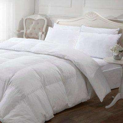 5* 10.5 tog Luxury Like Down Duvet - White / Super King size