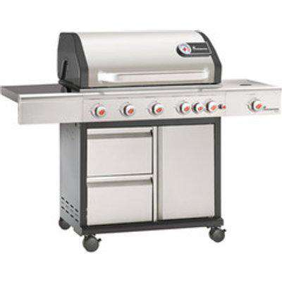 Triton PTS+ 6.1 Stainless Steels Gas Barbecue 12984 - Graphite Grey