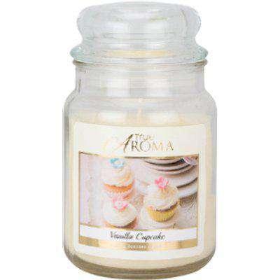 True Aroma Luxury Scented Candle - Vanilla Cupcake / Large