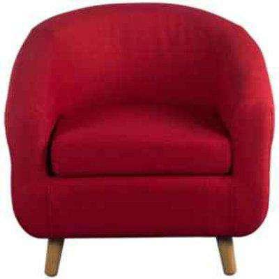 Turin Tub Chair - Red
