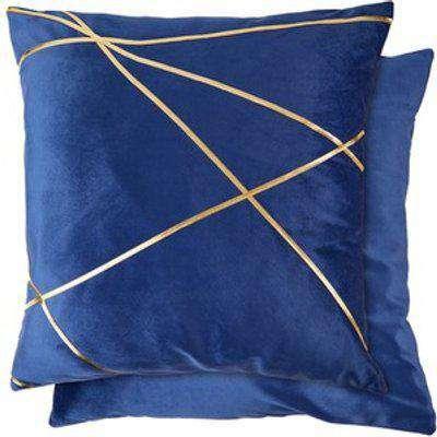 Vancouver Velvet Cushion Cover  - Navy