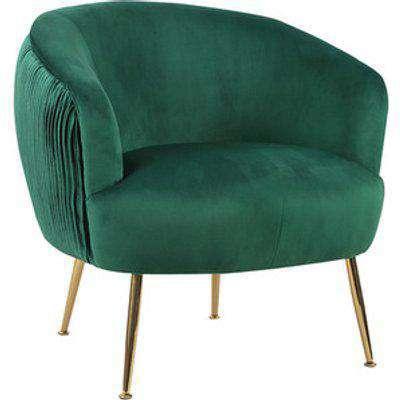 Velvet Club Chair - Green