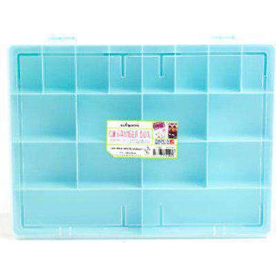 Wham Craft Organiser Box - Blue / Large