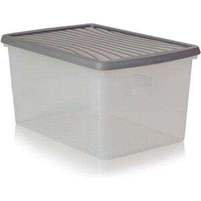 Wham Storage Box with Lid  - Graphite / 54l