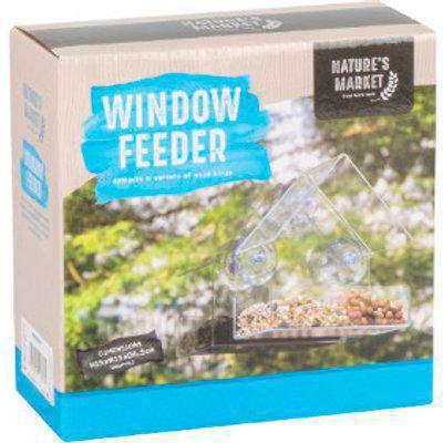Window Bird Feeder - Clear
