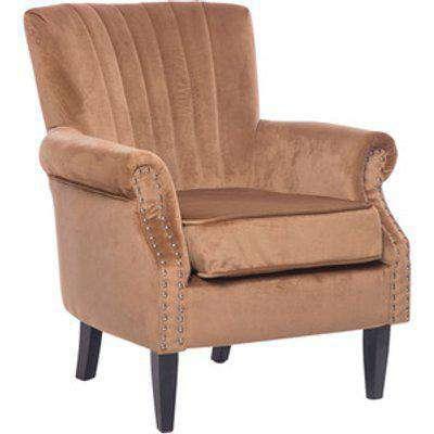 Wingback Armchair - Brown
